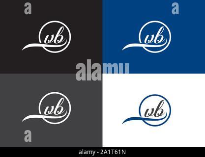 initial lowercase letter, rounded logo on multiple backgrounds, A to z Logo, Initial logo.  monogram logo,  Letter mark logo design, - Stock Photo
