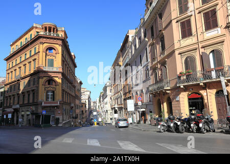 Rome Street, everyday life in the city