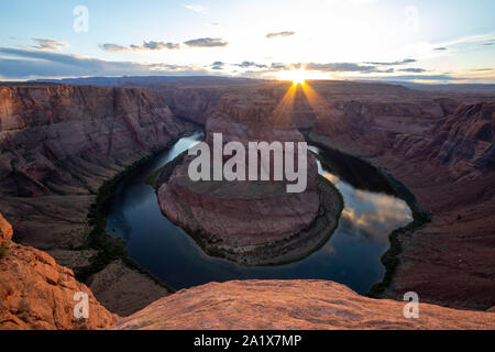 Horseshoe Bend is a horseshoe-shaped incised meander of the Colorado River located near the town of Page, Arizona, United States. Travel USA, bucket l