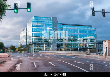 Cork City, Cork, Ireland. 29th September, 2019. Early morning view of the One Albert Quay office building in Cork City, Ireland. - Credit; David Creed - Stock Photo