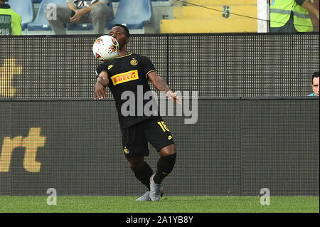 KWODWO ASAMOAH , INTER,  during Sampdoria Vs Inter , Genova, Italy, 28 Sep 2019, Soccer Italian Soccer Serie A Men Championship - Stock Photo