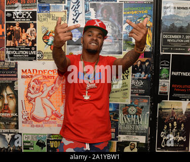 Fort Lauderdale FL, USA. 28th Sep, 2019. Rocky performs at Revolution Live on September 28, 2019 in Fort Lauderdale, Florida. Credit: Mpi04/Media Punch/Alamy Live News - Stock Photo