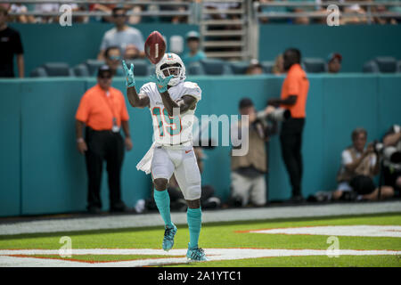 Miami, Florida, USA. 29th Sep, 2019. 19 Jakeem Grant during the Miami Dolphins v Los Angeles Chargers on September 29, 2019 Credit: Dalton Hamm/ZUMA Wire/Alamy Live News - Stock Photo
