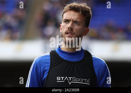 Emyr Huws of Ipswich Town - Ipswich Town v Tranmere Rovers, Sky Bet League One, Portman Road, Ipswich, UK - 28th September 2019  Editorial Use Only - DataCo restrictions apply - Stock Photo