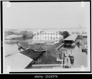 Palace and Navy yard, Cavite, P.I. - Stock Photo