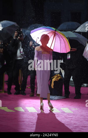 Photo Must Be Credited ©Alpha Press 079965 30/09/2019 Renee Zellweger Judy European Premiere In London - Stock Photo