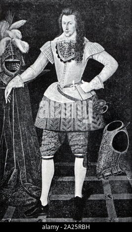 Henry Wriothesley, 3rd Earl of Southampton (1573 - 1624), English courtier