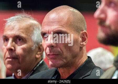 Ioannis Georgiou 'Yanis' Varoufakis is a Greek economist, academic and politician at the labour Party Annual 2019 Conference, Brighton, UK - Stock Photo