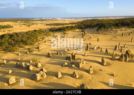 Pinnacles Desert at Nambung National Park in Western Australia