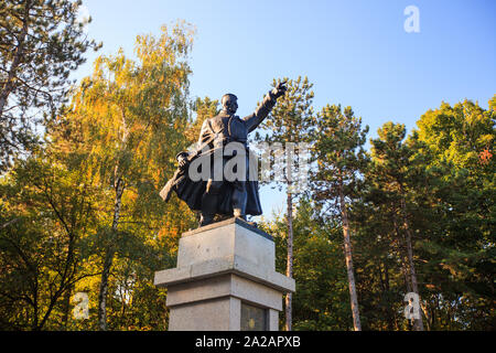 Monument dedicated to 1300 Corporals, as a mark of one of the victories of the Serbian Army in the World War I. Rajac , Serbia. - Stock Photo