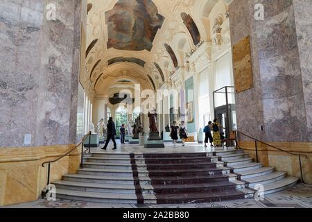 Petit Palais Musée des Beaux Arts de la Ville de Paris, France, Europe - Stock Photo