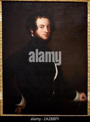 '''Autoportrait'', 1845, Alfred, Comte d'Orsay, Petit Palais Musée des Beaux Arts de la Ville de Paris, France, Europe - Stock Photo