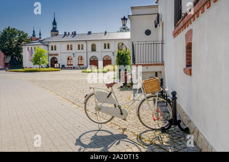 Pszczyna (ger.: Pless), Silesian province, Poland. The Prince's Stables courtyard. - Stock Photo