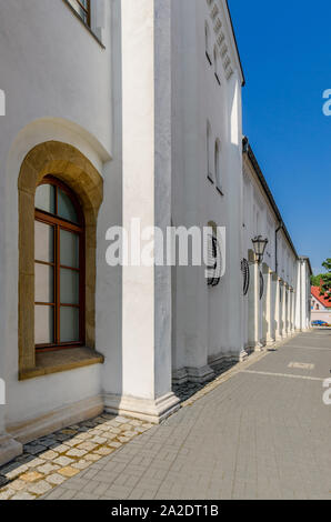 Pszczyna (ger.: Pless), Silesian province, Poland. The Prince's Stables building. - Stock Photo