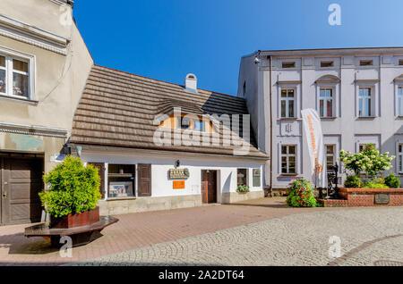Pszczyna (ger.: Pless) Silesian province, Poland. The Silesian Press Museum, Piastowska street. - Stock Photo