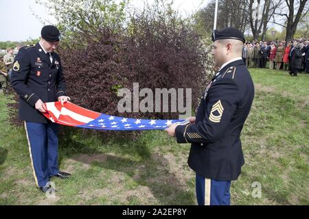 Elbe Day April 25, 2015 in Torgau - Stock Photo