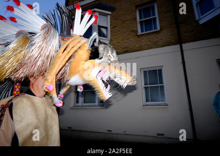 Ryde Carnival 2019, Isle of Wight. - Stock Photo