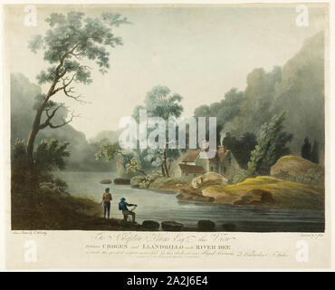 Between Crogen & Llandrillo on the R. Dee, published 1793, Francis Jukes, English, 1745-1812, England, Color aquatint and etching on paper, Untitled, 1848/56, Fontayne & Porter, American, active 1848–1856, United States, Daguerreotype, 14 x 10.8 cm (plate), 15 x 12.1 x 1.5 cm (case), Untitled, 1839/60, 19th century, Unknown Place, Daguerreotype, 14 x 10.8 cm (plate), 15.3 x 12 x 1.9 cm (case), Untitled, 19th century, 19th century, Unknown Place, Albumen on porcelain, 14 x 10.8 cm (plate), 15.7 x 12.7 x 2.7 cm (case - Stock Photo