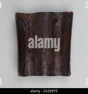 Buckler (Targa), 1550/75, Italian, Italy, Wood, leather, and iron, 26.7 × 24.1 cm (10 1/2 × 9 1/2 in - Stock Photo