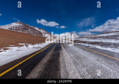 Along the National Road from San Pedro de Atacama, Chile, to the Argentine border town of Jama, Republic of Chile, Latin America