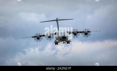 Airbus Atlas a400m RAF Transport Aircraft - Stock Photo