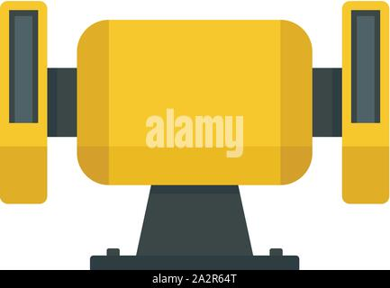 Polish miter icon. Flat illustration of polish miter vector icon for web design - Stock Photo