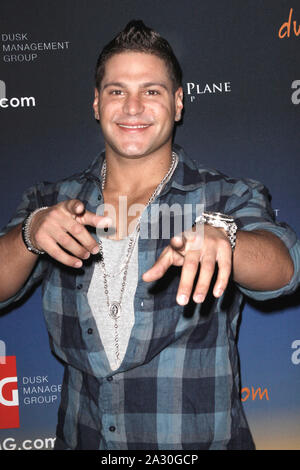***FILE PHOTO*** Ronnie Ortiz-Magro Arrested for Kidnapping after alleged domestic violence with girlfriend. Ronnie Ortiz-Magro at Dusk at Caesars in Atlantic City on March 12, 2011 Credit: Star Shooter/MediaPunchInc - Stock Photo