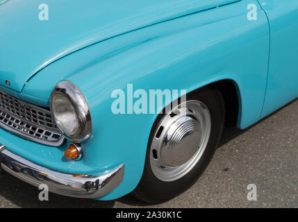 GDR Oldtimer Wartburg 311 - Stock Photo