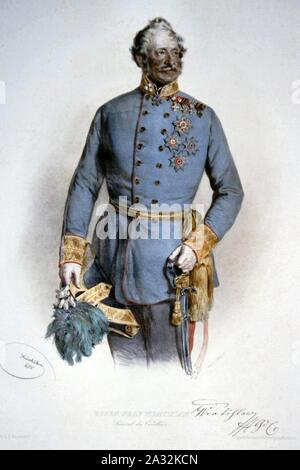 Eugen Wratislaw von Mitrowitz. - Stock Photo
