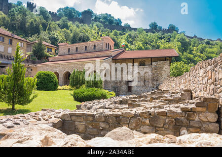 The Holy Forty Martyrs Church is a medieval church constructed in 1230 in Veliko Tarnovo, the former capital of the Second Bulgarian Empire. - Stock Photo