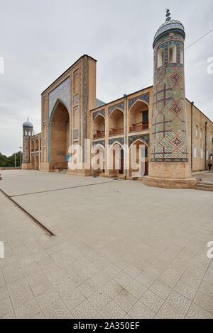 Kukeldash Madrasah next to Chorsu bazaar, Tashkent, Uzbekistan, Central Asia - Stock Photo