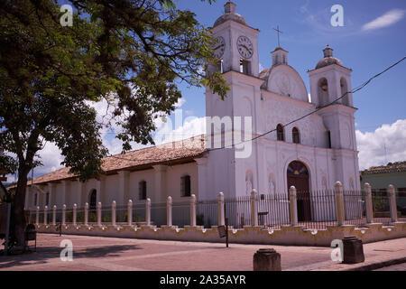 The church in Gracias, Honduras - Stock Photo