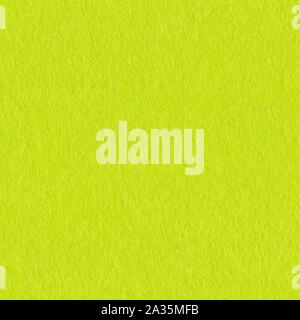 High resolution close up of lime felt. Seamless square background, tile ready. - Stock Photo