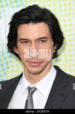 London, UK. 05th Oct, 2019. American actor Adam Driver attends the premiere of The Report at the 63rd BFI London Film Festival on October 5, 2019. Photo by Rune Hellestad/UPI Credit: UPI/Alamy Live News - Stock Photo