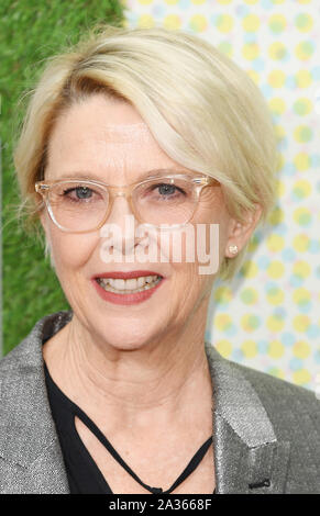 London, UK. 05th Oct, 2019. American actress Annette Bening attends the premiere of The Report at the 63rd BFI London Film Festival on October 5, 2019. Photo by Rune Hellestad/UPI Credit: UPI/Alamy Live News - Stock Photo