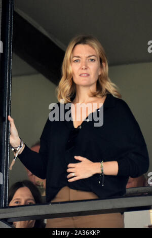 Barcelona, Spain. 05th Oct, 2019. The daughter of Amancio Ortega and heiress of the Inditex Group, Marta Ortega at the Longines FEI Jumping Nations Cup Final in Barcelona CSIO 2019. Credit: SOPA Images Limited/Alamy Live News - Stock Photo