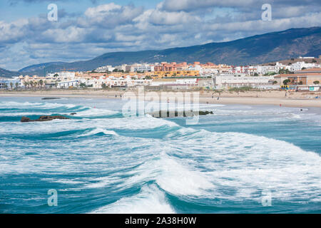 Tarifa, Cadiz, Andalusia, Spain - Stock Photo