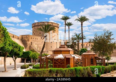 Ancient Citadel in Cairo - Stock Photo