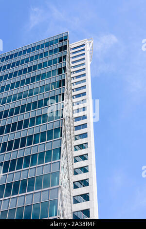 Weena 555 modern office building in the centre of Rotterdam, Netherlands - Stock Photo