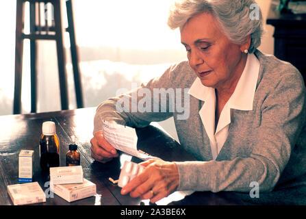 woman, medicine - Stock Photo