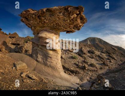 The Tabernas desert in Almeria, Spain