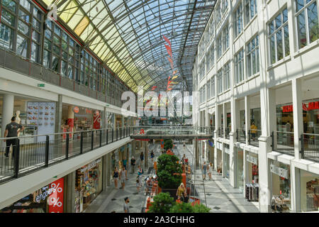 Einkaufszentrum Goethe Galerie, Jena, Thüringen, Deutschland - Stock Photo