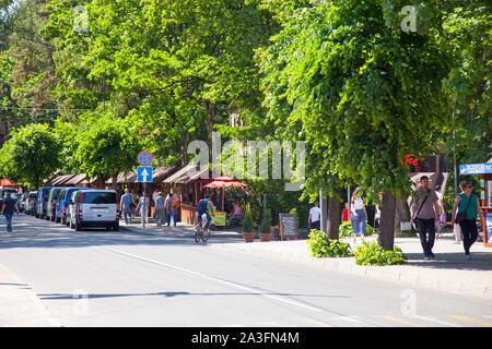 Svetlogorsk, Russia - June 05, 2019: View of the Svetlogorsk (Kaliningrad Oblast), Russia. - Stock Photo