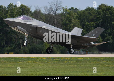 LOCKHEED MARTIN F-35 LIGHTNING II OF THE 56th FIGHTER WING, U.S. AIR FORCE. - Stock Photo