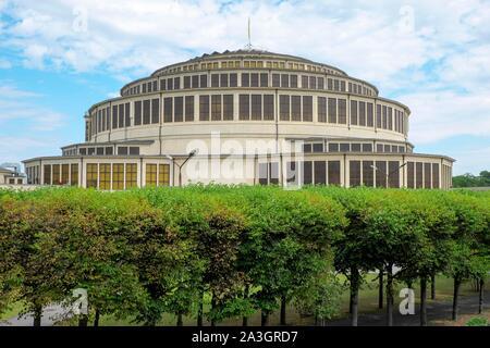 Wroclaw century Hall, Wroclaw, Poland - Stock Photo