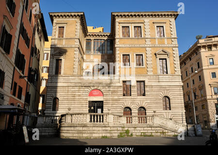 italy, rome, museo barracco, piccola farnesina - Stock Photo
