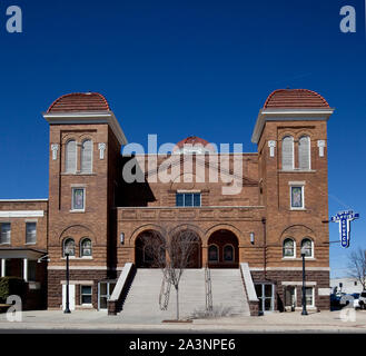 Sixteenth Street Baptist Church, Birmingham, Alabama - Stock Photo