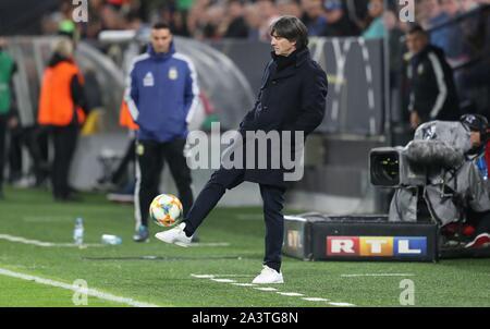 Dortmund, Deutschland. 09th Oct, 2019. firo: 09.10.2019 Football, 2019/2020 Landerspiel: National Team Germany - Argentina 2: 2 Bundescoach, Joachim Low, Loew   Credit: dpa/Alamy Live News - Stock Photo