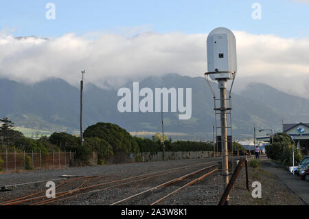 Around New Zealand - Known as ' Whaleway Station', Kaikoura, South Island - Stock Photo