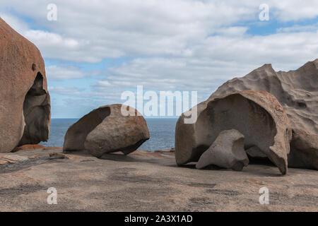 Famous rocks on Kangaroo Island in Australia - Stock Photo